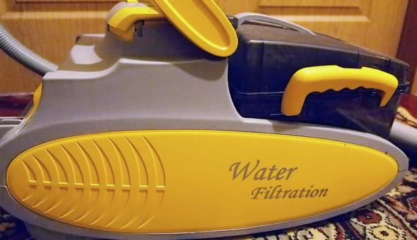Supra VCS-2015 —  наш жёлтый пылеглот с аквафильтром