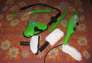 H2O Mop X5 — паровая швабра, паровой утюг и пароочиститель одновременно