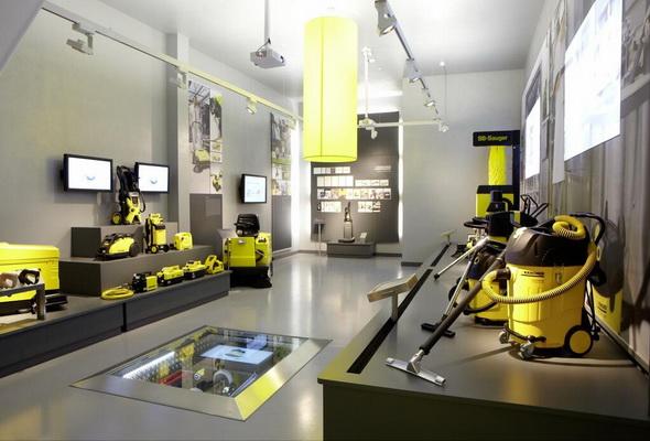 Музей техники Karcher проводит день открытых дверей.